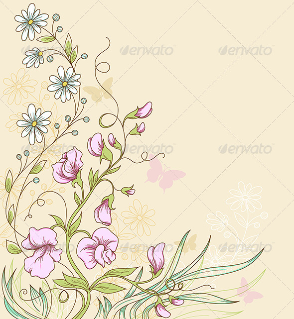 GraphicRiver Sweet Pea 3738593