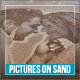 Pictures On Sand - VideoHive Item for Sale