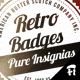 Retro Badges - Insignias