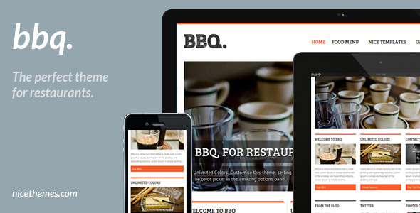 Bbq Restaurant Theme - Restaurants & Cafes Entertainment