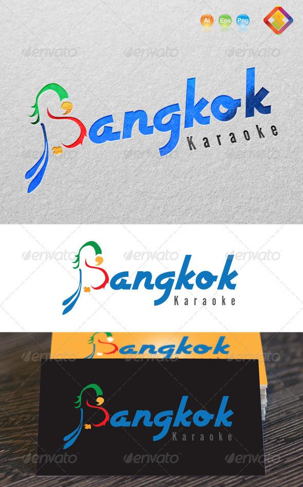 GraphicRiver Bangkok Karaoke Logo B Letter Design 3683461
