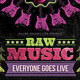 Raw Music Retro Flyer - GraphicRiver Item for Sale