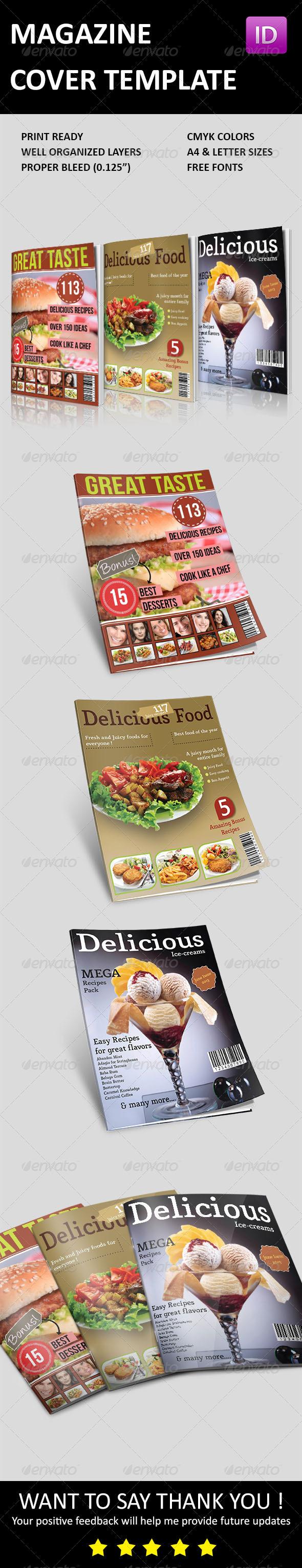 GraphicRiver Magazine Cover Templates 3613980