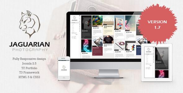 Jaguarian - Responsive Portfolio WordPress Theme