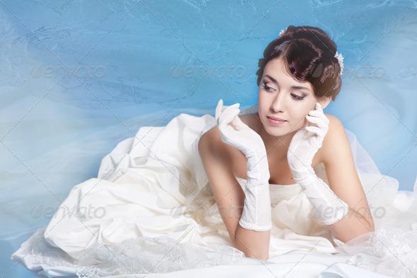 Bride portrait - Stock Photo - Images