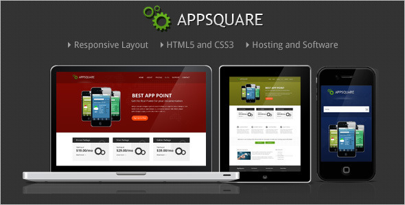 ThemeForest AppSquare Software and Hosting WordPress Theme 3741828