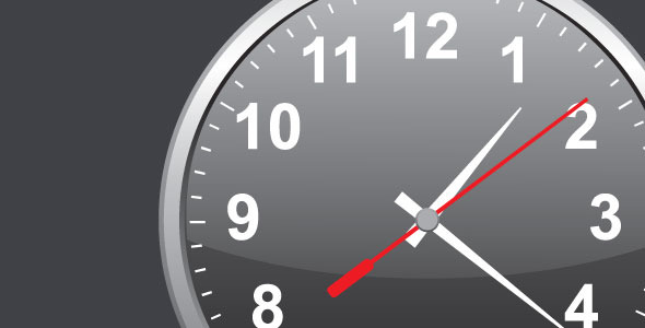 Customizable Analog Clock - jQuery - CodeCanyon Item for Sale