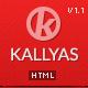 KALLYAS - Responsive Multipurpose Template - WorldWideThemes.net Item te koop