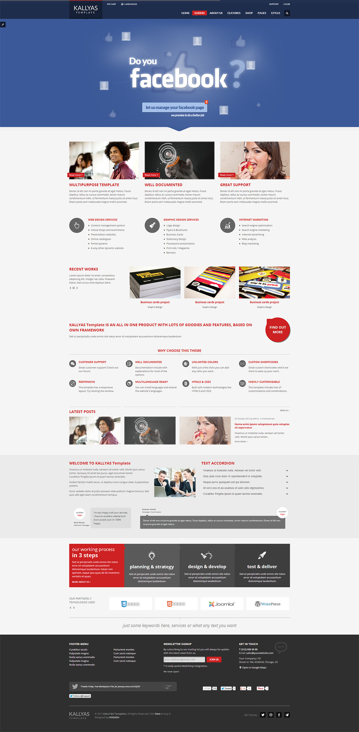 KALLYAS - Responsive Multipurpose Template - GENERAL PAGE 3