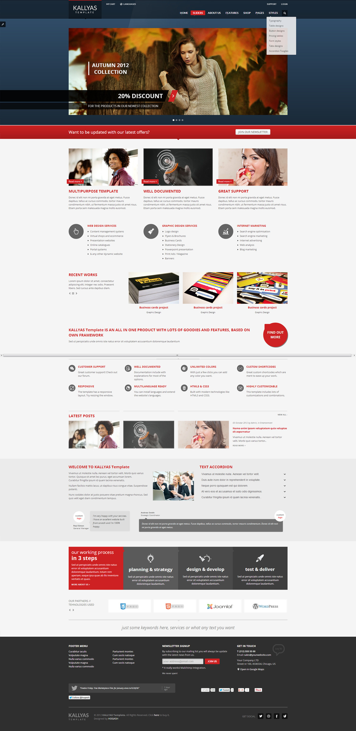 KALLYAS - Responsive Multipurpose Template - GENERAL PAGE 4