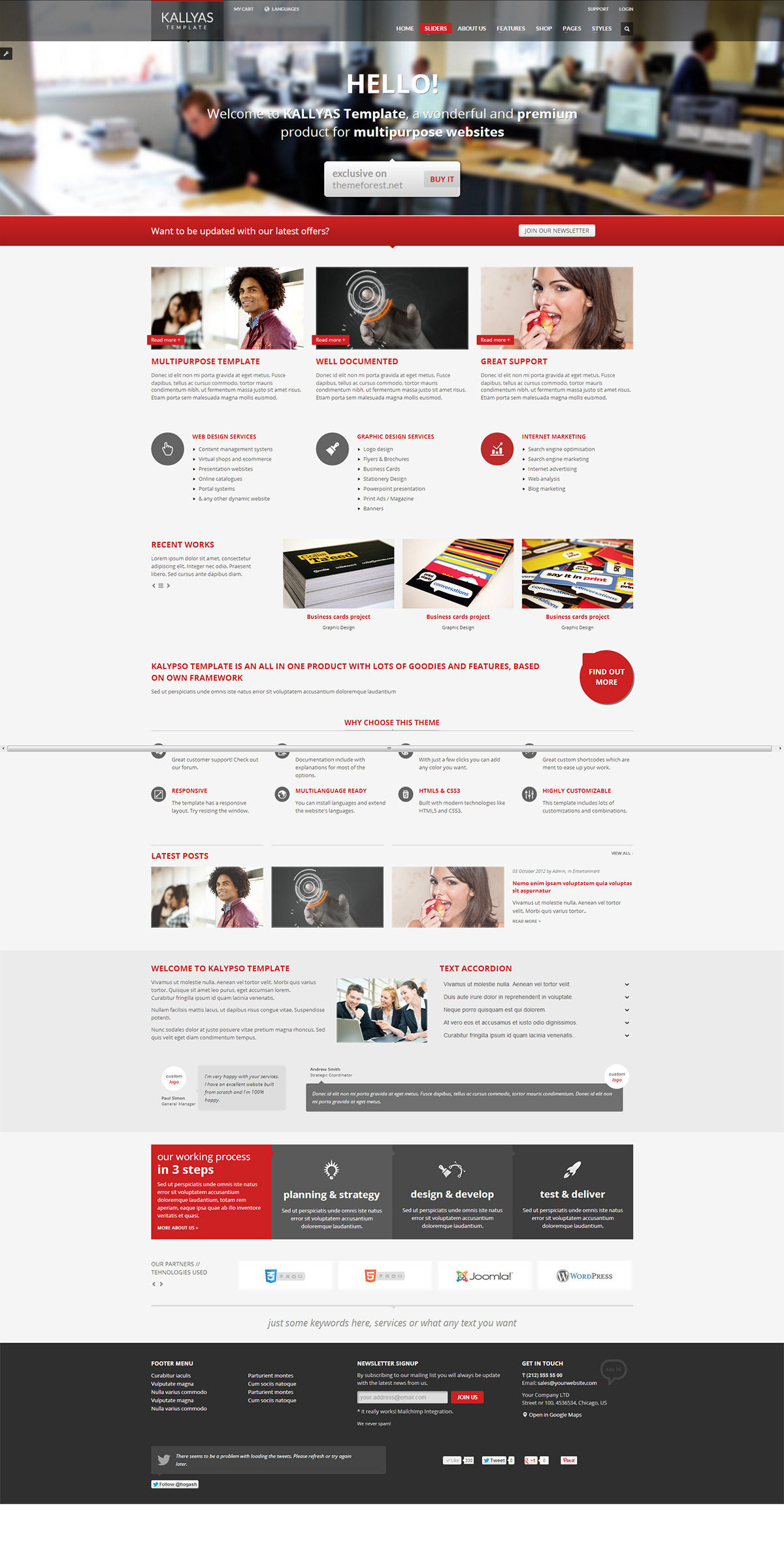 KALLYAS - Responsive Multipurpose Template - GENERAL PAGE 8