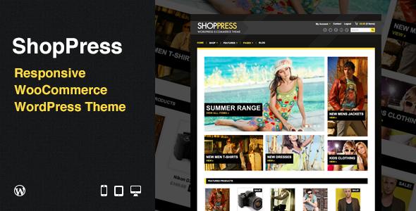 ShopPress: Responsive WooCommerce WordPress Theme - ThemeForest Item for Sale