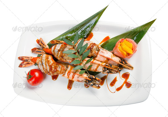 PhotoDune Royal tiger shrimps 3743614