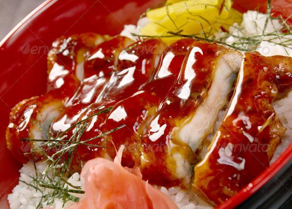 PhotoDune japanese food roast eel unagi 3743617