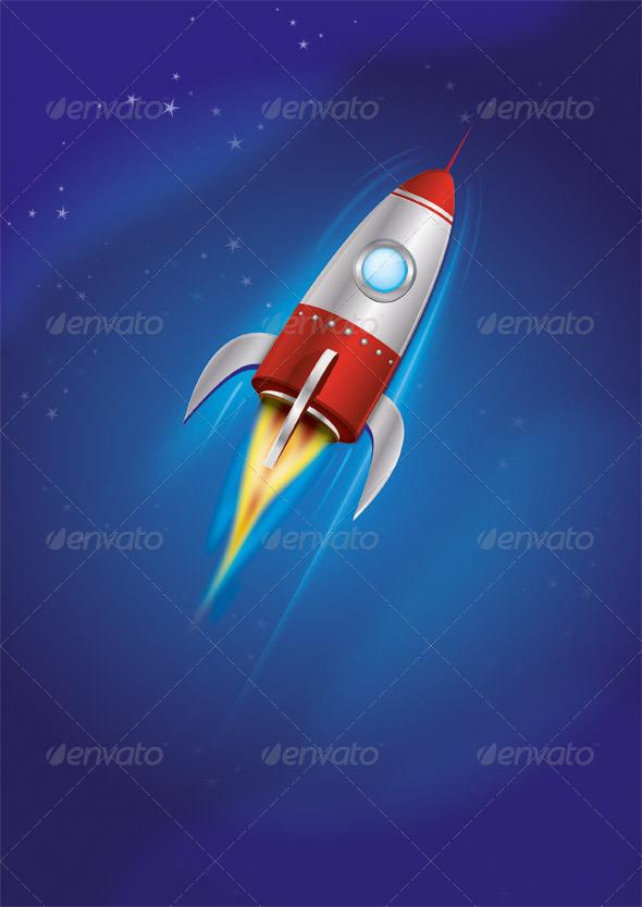 GraphicRiver Rocket 3743536