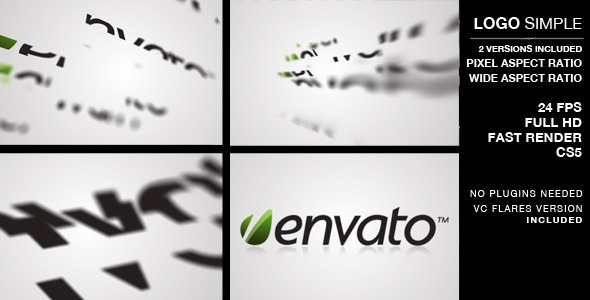 Logo Simple and Clean VideoHive  Logo Stings  Abstract 3726018