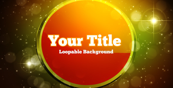 Title Loopable Background