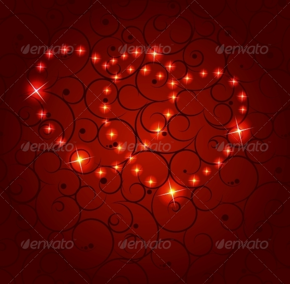 Valentines Day Paper Heart Background Vector