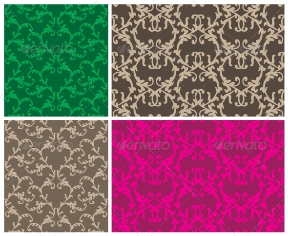 Two Elegant Seamless Patterns