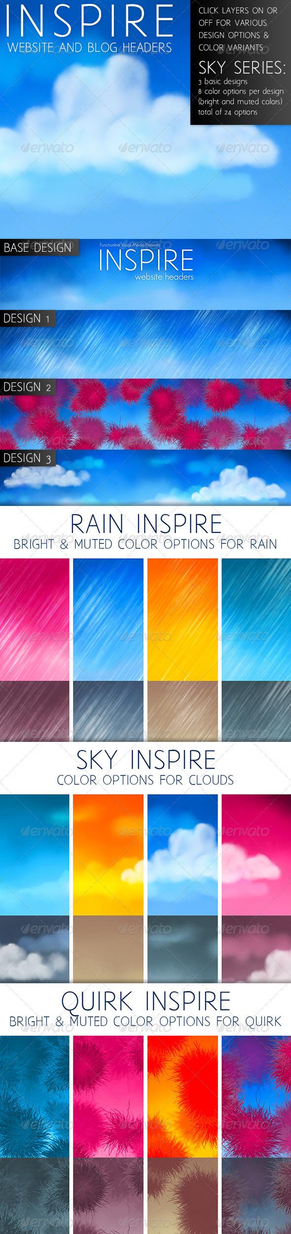 GraphicRiver Inspire Sky Series 3745347