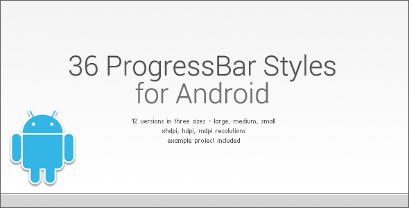 CodeCanyon ProgressBar Styles 01 for Android 3745447