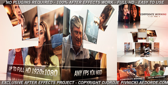 Corporate Morning VideoHive  Video Displays  Corporate 3726185
