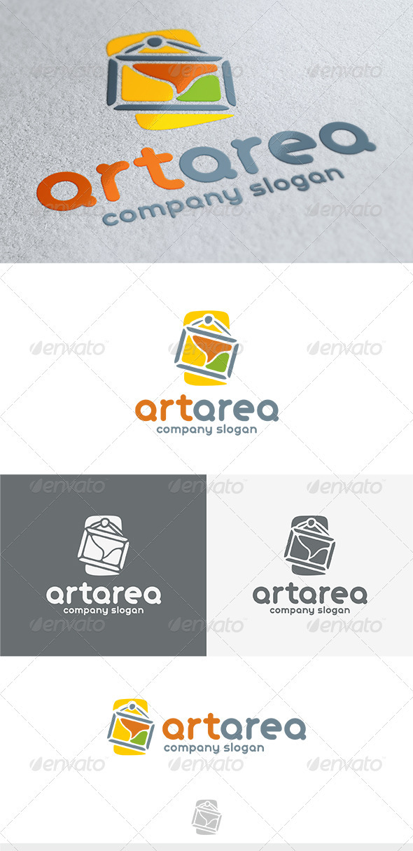GraphicRiver Art Area Logo 3745983