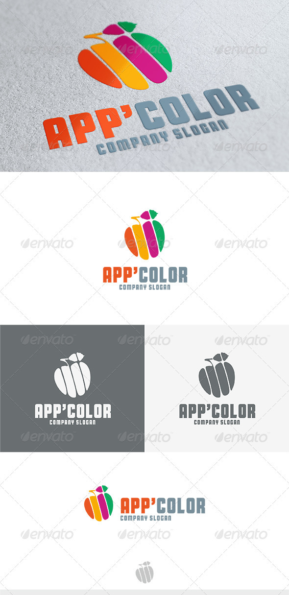 GraphicRiver App Color Logo 3746296