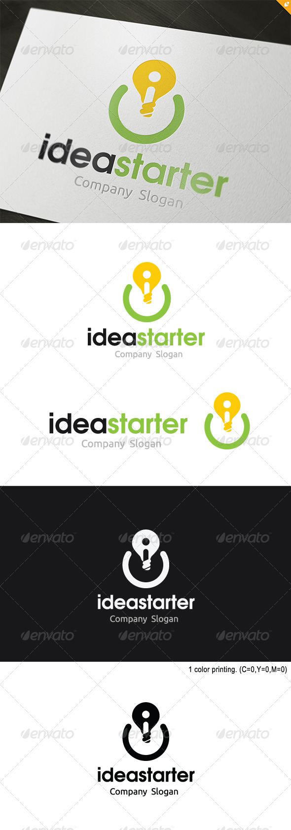 GraphicRiver Idea Starter Logo 3689175