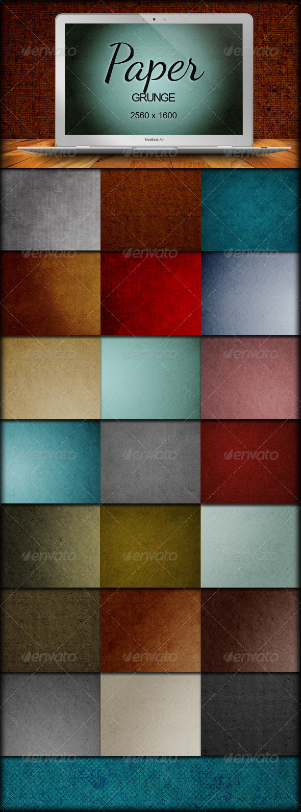 GraphicRiver 28 Paper Grunge Backgrounds 403582
