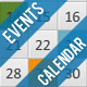 Minimalistic Event Calendar - ActiveDen Item for Sale