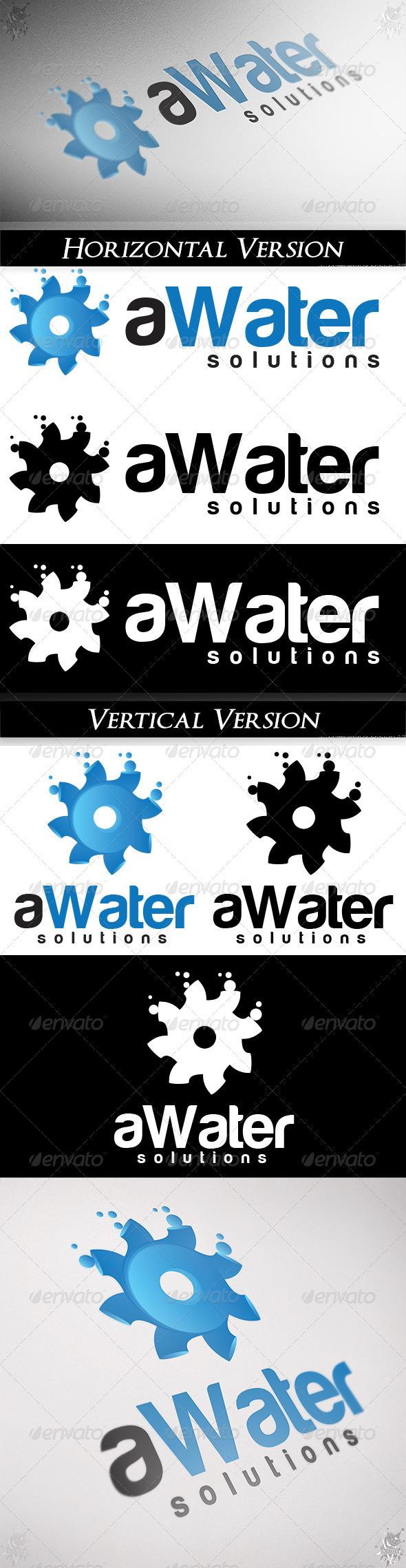 GraphicRiver aWater Logo 3696704