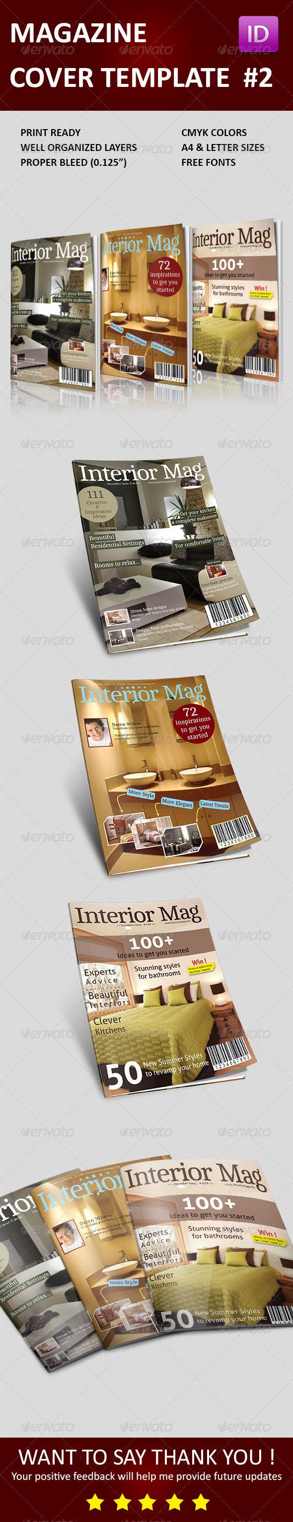 GraphicRiver Magazine Cover Templates Vol 2 3748875