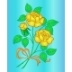Flowers Yellow Roses - GraphicRiver Item for Sale