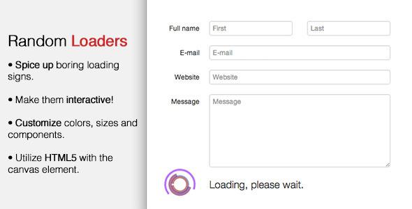 Random Loaders - CodeCanyon Item for Sale