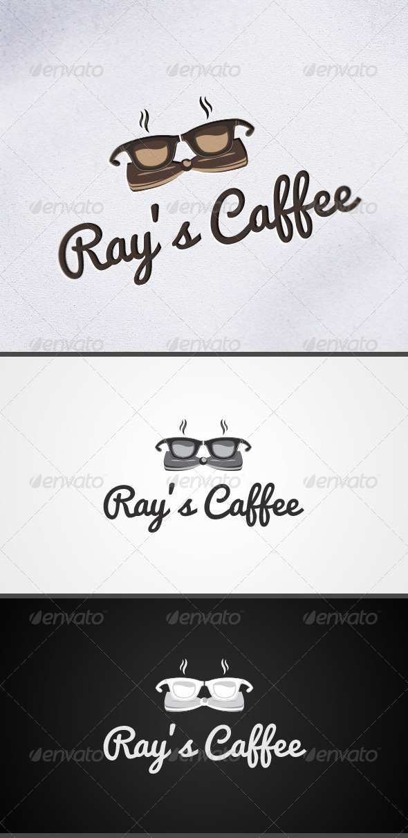 GraphicRiver Caffee Coffee Shop Logo 3693676