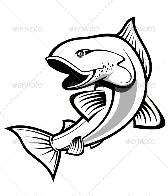 GraphicRiver Fishing symbol 3753794