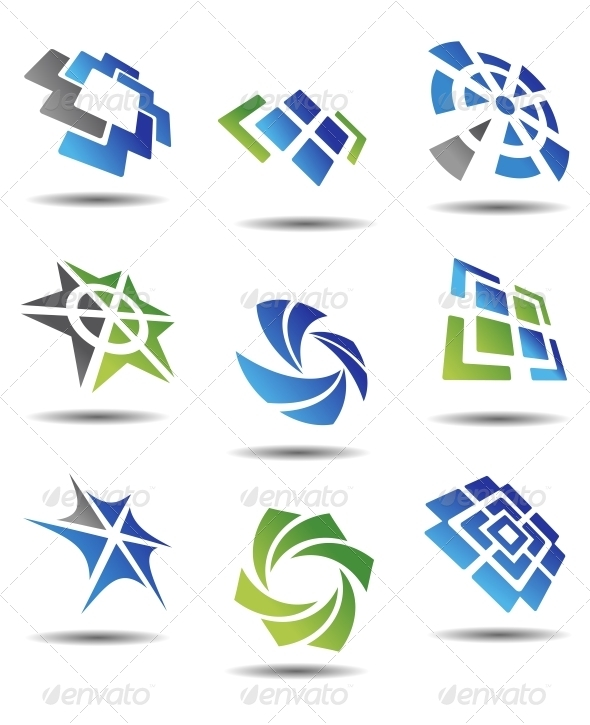 GraphicRiver Set of Abstract Symbols 3753812