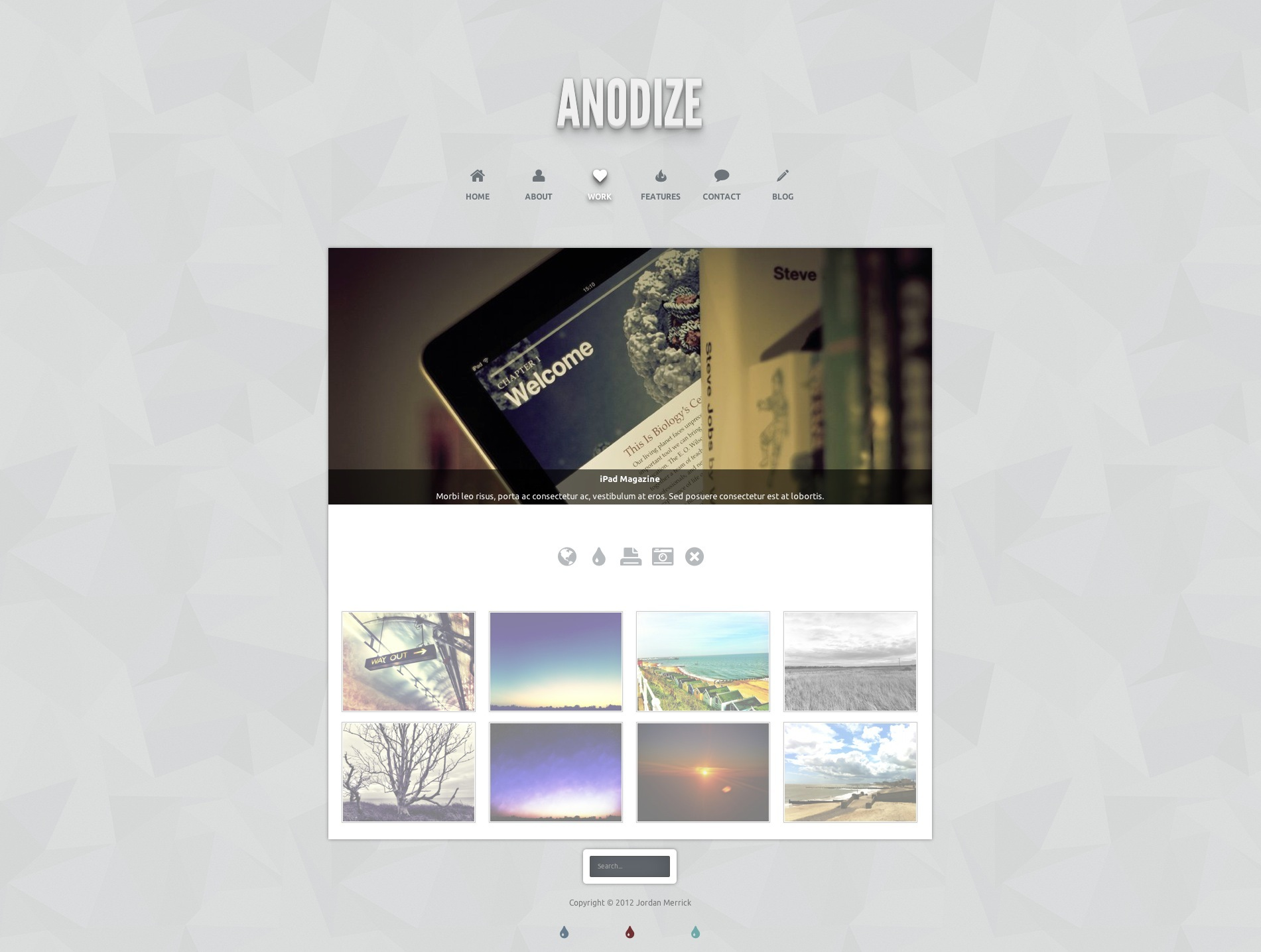 Anodize - A Responsive HTML5 Template