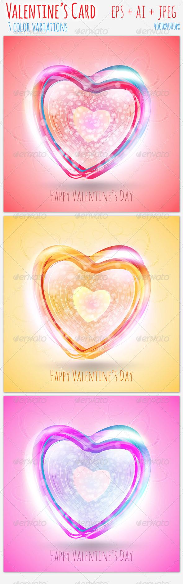 GraphicRiver Valentine s Card 01 3754527