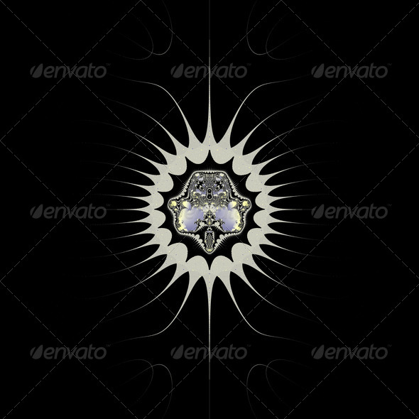 Golden Space - Stock Photo - Images