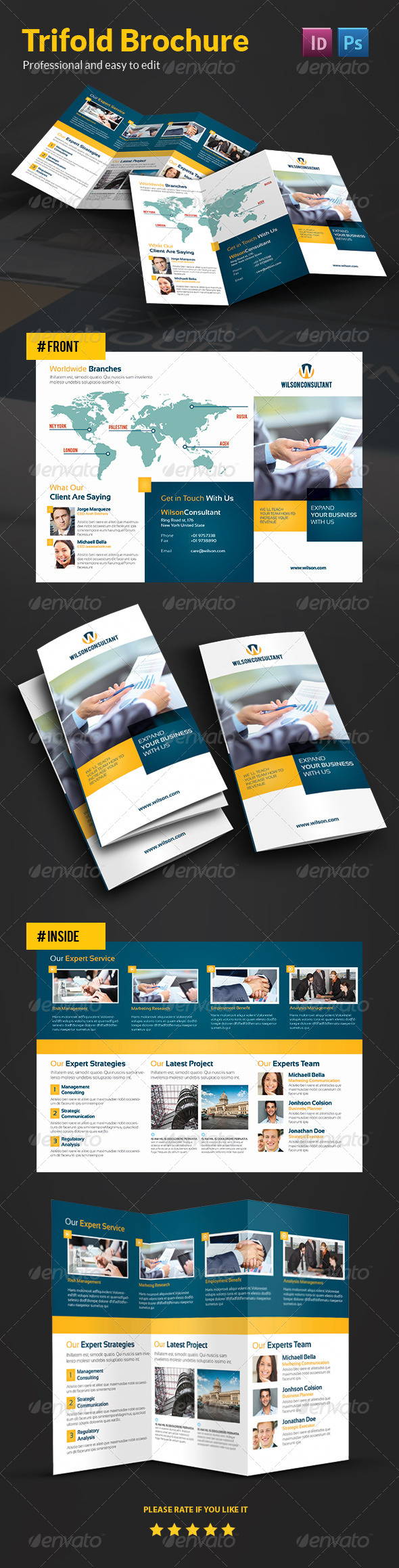 GraphicRiver Business Brochure 3756052