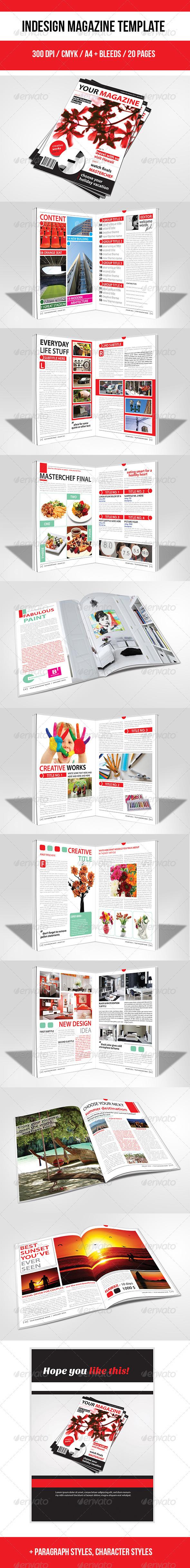 GraphicRiver Indesign Magazine Template 3756335