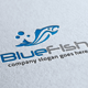 Blue Fish Logo - GraphicRiver Item for Sale