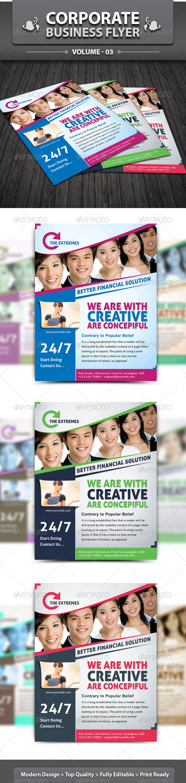 GraphicRiver Corporate Business Flyer v3 by dotnpix 3758069