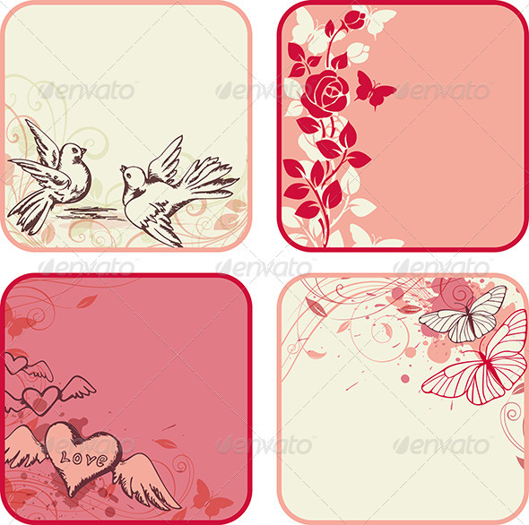 GraphicRiver Valentine s Day Cards 3758075