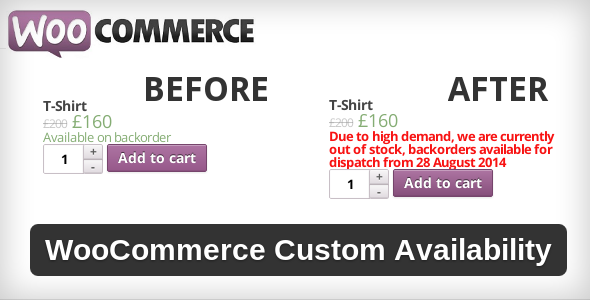 CodeCanyon WooCommerce Custom Availability 3737876