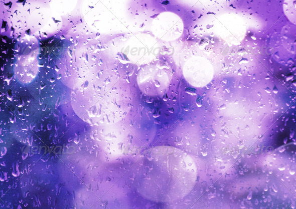 Rainy Bokeh 8 - Stock Photo - Images