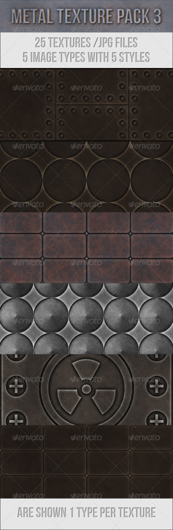 GraphicRiver Metal Texture Pack 3 3759705