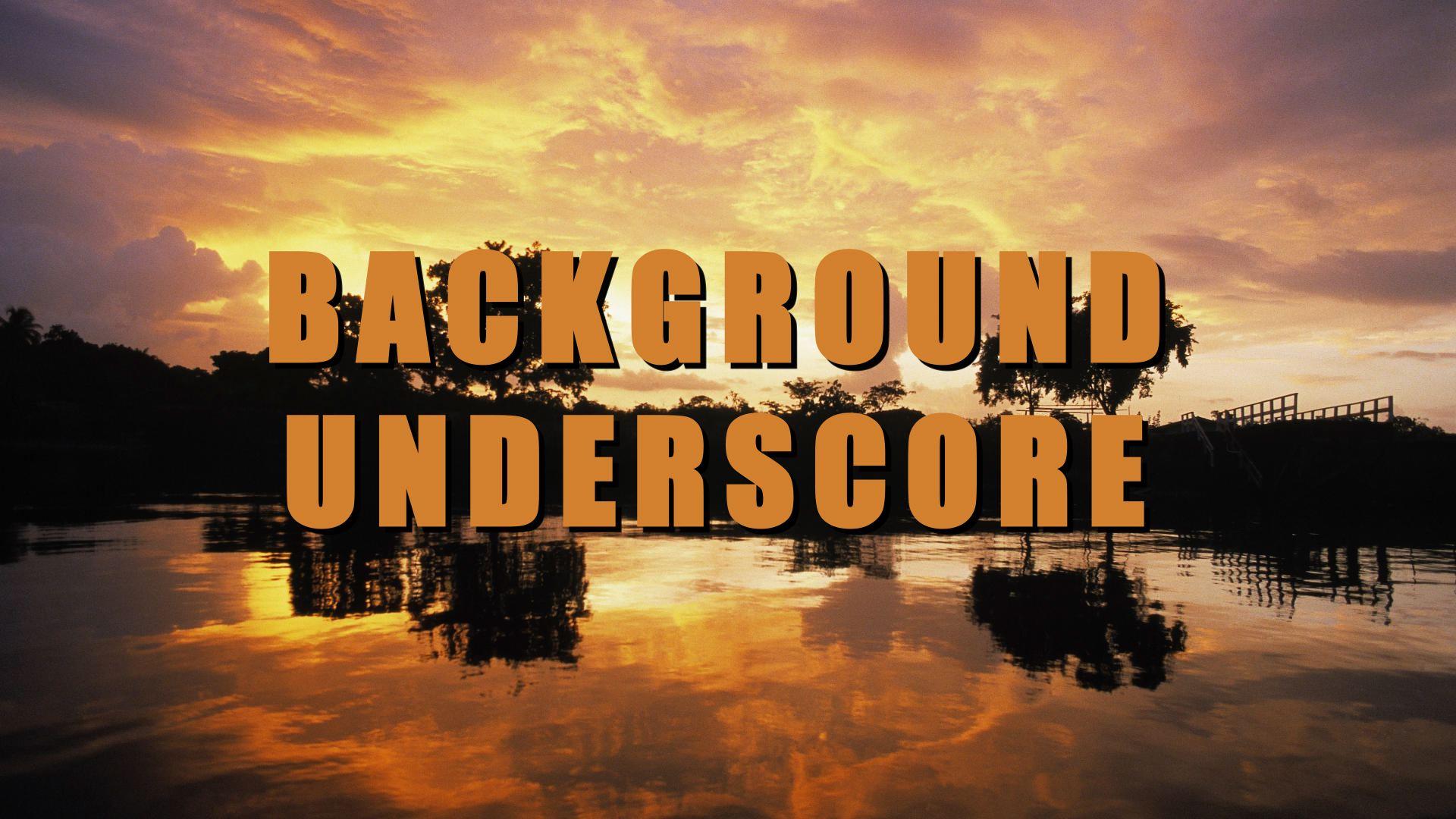 Background Underscore